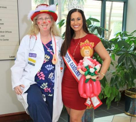 Judy & Miss South Carolina!